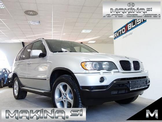 BMW serija X5- 3.0i-SLOVENSKO VOZILO- ROČNI MENJALNIK- SPORT PAKET- 18 COL-