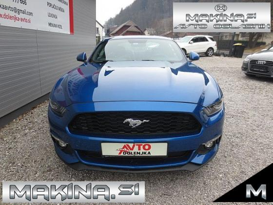 Ford Mustang 2.3EcoBoost AUTOMATIC + NAVIGACIJA + USNJE + KAMERA + 2 X LED + KEYLESS