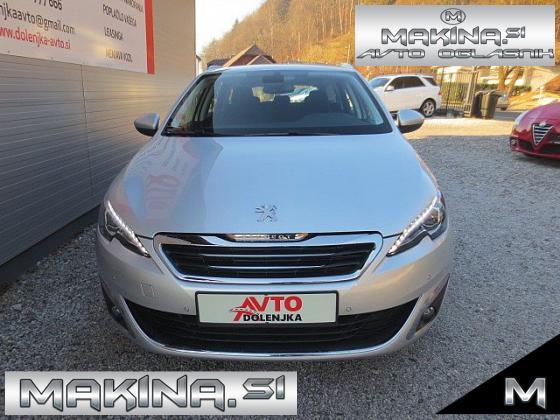 Peugeot 308 1.6HDI NAVIGACIJA + 2 X PDC + TEMPOMAT + POTOVALNI RAČUNALNIK + TEL + DEŽNI SENZOR + ALU 17
