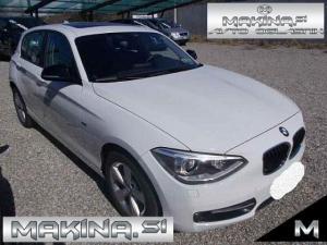 BMW serija 1- 120D SPORT AUTOMATIC + BIXENON + PDC + USNJE + ŠPORTNI SEDEŽI...