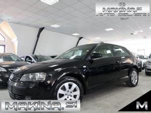Audi A3 1.6- SLOVENSKO VOZILO- SAMO 150.000KM -BEŽ- TEMPOMAT- KOT NOV-