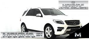 Mercedes-Benz ML-Razred 400 AUT 4M AMG STYLE NAVIGACIJA + BIXENON + KAMERA + LE 44000 KM..