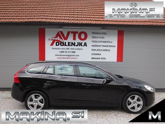 Volvo V60 2.0TD D3 AUT MOMENTUM + NAVIGACIJA + PDC + USNJE + KLIMA + TEMPOMAT