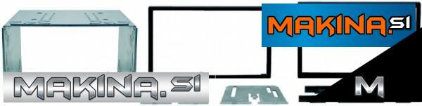 Univerzalni okvir in maska 2-din / 2-iso