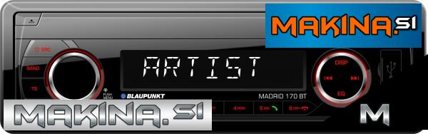 AVTORADIO BLAUPUNKT MADRID 170BT