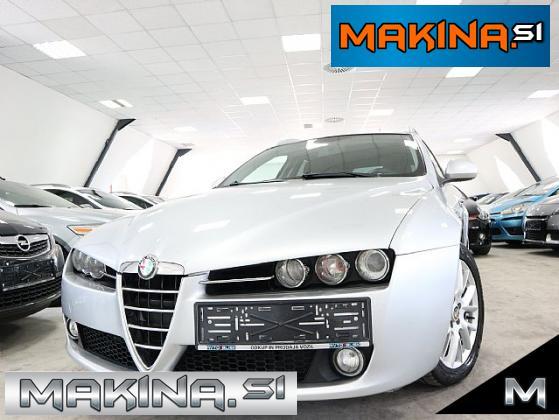 Alfa Romeo 159 Sportwagon 1.9 M-JET- KAMERA- 17 COL- TEMPOMAT- SPORT-