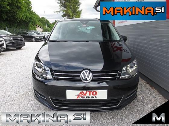 Volkswagen Sharan 2.0TDI HIGHLINE DSG + BIXENON + NAVI + PANORAMA + 7.SEDEŽEV