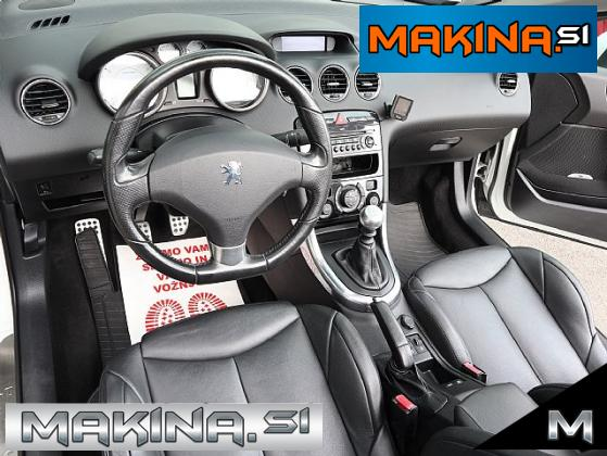 Peugeot 308 CC 1.6 16V-SLOVENSKO VOZILO- PERLA- SAMO 119.000KM- USNJE-