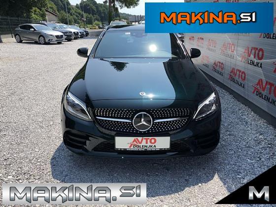 Mercedes-Benz C-Razred C220T d AUTOMATIC + NAVIGACIJA + USNJE + LED + KEYLESS + PDC + SLOVENSKO VOZILO