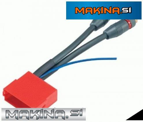 Konektor mini Iso - RCA 2k