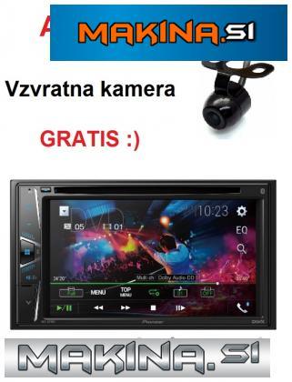 MULTIMEDIJSKI AVTORADIO PIONEER AVH-G210BT + KAM