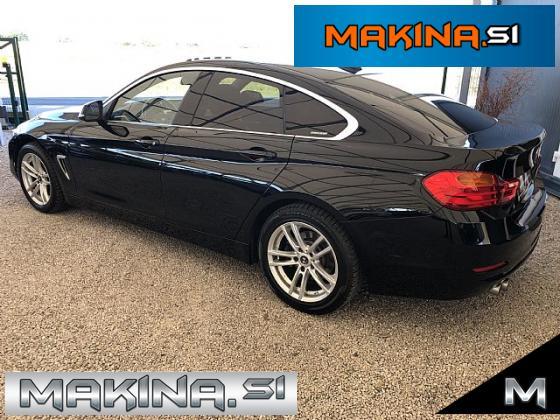 BMW serija 4- 420d Gran Coupé Sport Line- navigacija- pdc- alu17