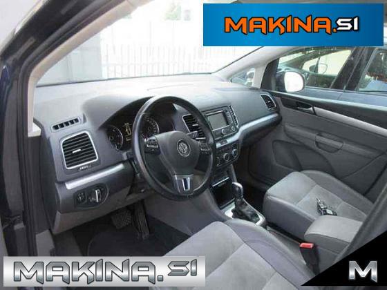 Volkswagen Sharan 2.0TDI HIGHLINE DSG + NAVIGACIJA + 2 X PDC + GRETJE SEDEŽEV + LE 109 TKM