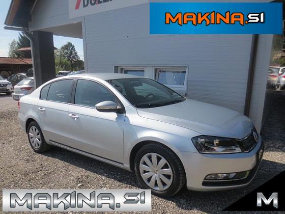Volkswagen Passat 1.6TDI NAVIGACIJA + 2 X AVTOMATSKA KLIMA + POTOVALNI RAČUNALNIK + ELEKTRIČNA STEKLA + LE 124 TKM...