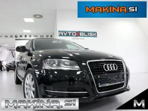 Audi A3 Sportback 1.6 TDI- TEMPOMAT- MULTIFUNKCIJSKI VOLAN- GRETJE SEDEŽEV- CROM