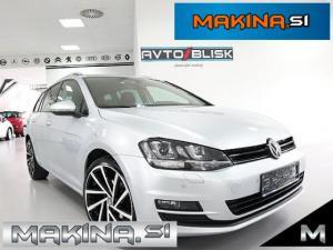Volkswagen Golf Variant 1.6 TDI- LED- NAVIGACIJA- GRETJE SEDEŽEV- PILOT-