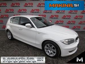 BMW serija 1- 116d AVTOMATSKA KLIMA + PDC + TEMPOMAT + POTOVALNI RAČUNALNIK + SLOVENSKO VOZILO...