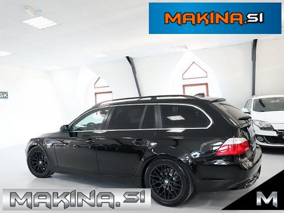 BMW serija 5- 525d touring- TEMPOMAT- CROM- 18 COL- ELEKTRIČNI SEDEŽI-