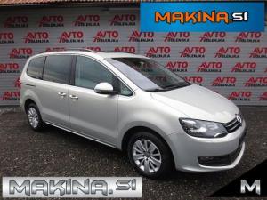 Volkswagen Sharan 2.0TDI Comfortline BIXENO + LED + PANORAMA + 2 X ŠDC + TEMPOMAT
