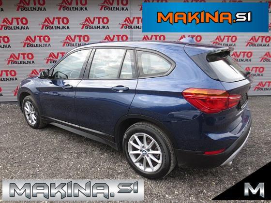 BMW serija X1- xDrive18d + BUSINESS + 4X4 + AVTOMATIK + USNJE + NAVIGACIJA + KOT NOV