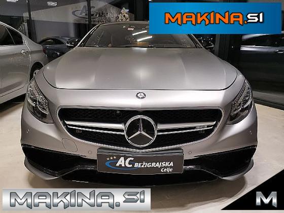 Mercedes-Benz S-Razred S Coupé 63 AMG 4MATIC Avtomatic- MAX OPREMA
