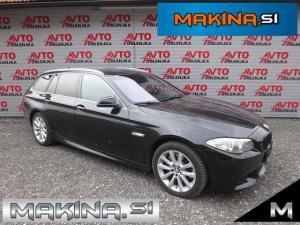 BMW serija 5- 525d xDrive + M OPTIC + USNJE + BARVNA NAVIGACIJA + MEMORY + XENON