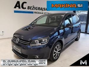 Volkswagen Touran 2.0 TDI Comfortline DSG- NAVIGACIJA- KAMERA- PDC- ALU