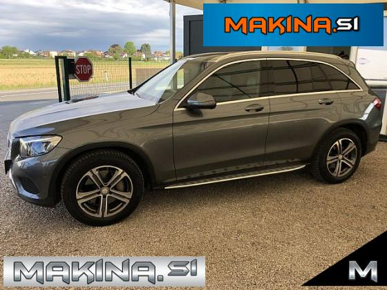 Mercedes-Benz GLC-Razred GLC 220 d 4MATIC Exclusive Avtomatic- navigacija- pdc- alu18