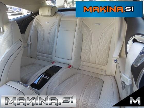 Mercedes-Benz S-Razred S Coupé 63 AMG ACC- 360kamera- Panorama- Burmester
