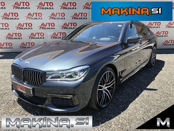 BMW serija 7- 750d xDrive M Sportpaket- Laser- Hlajenje- Masaža-360