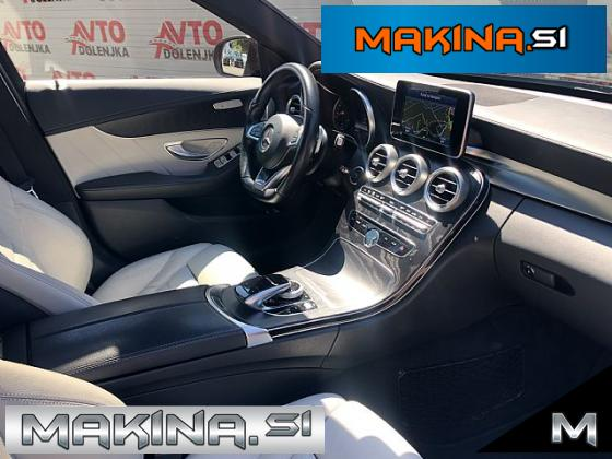 Mercedes-Benz C-Razred C 220d 2 x AMG FullLED- F1- Sončna streha- Burmester