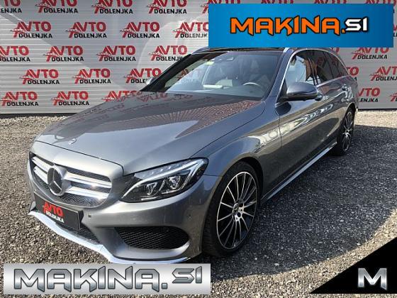 Mercedes-Benz C-Razred C 220 d T 2 x AMG Line- 9G- Panorama- ACC- Usnje-