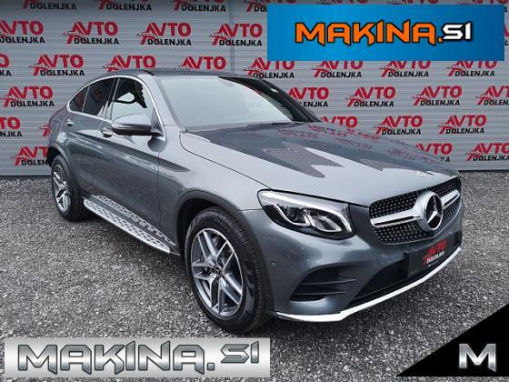 Mercedes-Benz GLC coupe GLC Coupé 250 d 4MATIC 2xAMG Line- LED- Usnje- 360- F1