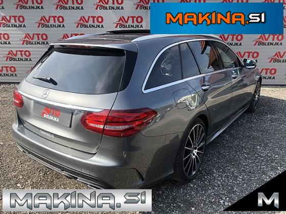 Mercedes-Benz C-Razred C 220 d T 2 x AMG Line- 9G- Panorama- ACC- Usnje- Lane