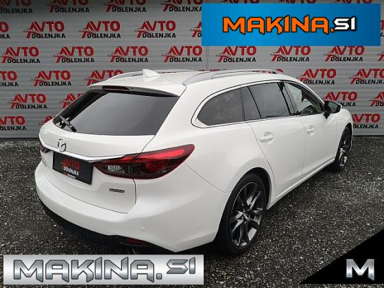 Mazda6 Karavan Revolution- CD175 4x4 ACC- LED- Belo usnje