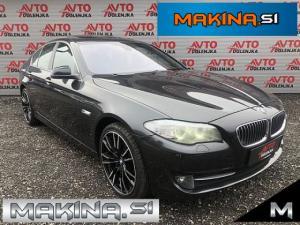 BMW serija 5; 520d LED- Xenon- F1- Kamera- Usnje- Navigacija- Sončna streha-20.alu