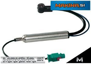Antenski adapter z napajanjem Fakra/Iso