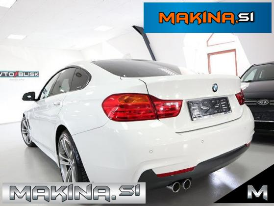 BMW serija 4: 420d Gran Coupe M Sport- LED- PRO- NAVIGACIJA- GRETJE SEDEŽEV-