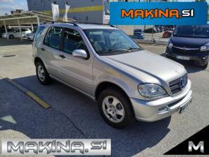 Mercedes-Benz ML-Razred ML 350 Avt.+PLIN- SLOVENSKO VOZILO- 2.LASTNIK- PDC- ALU- KLIMA